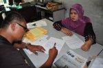 Mengurus surat surat di pelabuhan belawan Medan